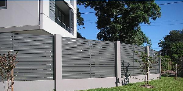 Aluminium Slat Fencing Aluminium Slat Fence Panels